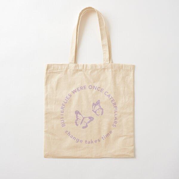 Conception de sac fourre-tout papillon Tote bag classique