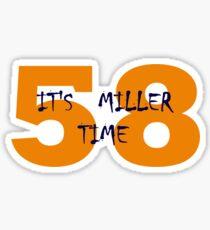 Von Miller Time Sticker
