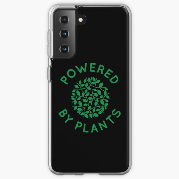 Powered by Plants Samsung Galaxy Soft Case