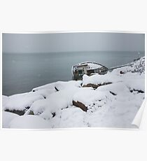 Capsize in Snow Poster