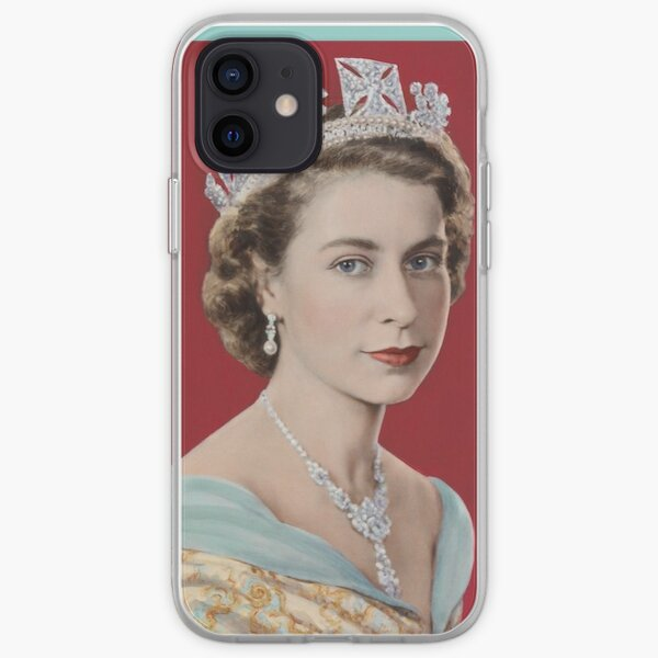 Queen Elizabeth II ~ Diamond Jubilee iPhone Soft Case