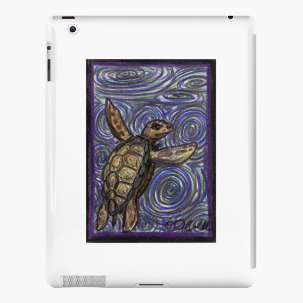 Loggerhead Turtle and Swirls iPad Snap Case