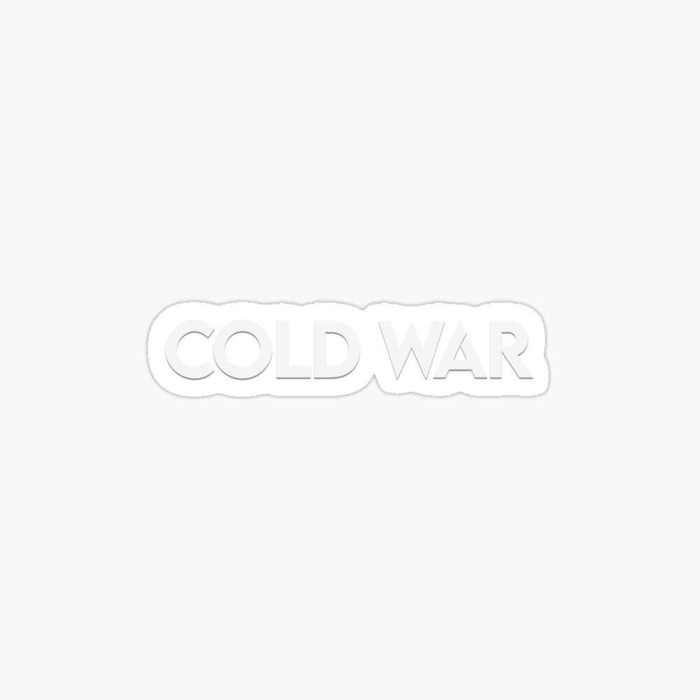 Black Ops Cold War Logo Poster By Backdoorstore Redbubble