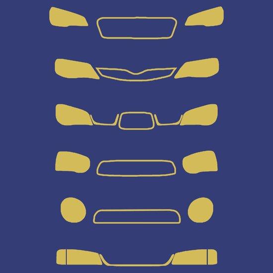 TShirtGifter presents: Subaru Impreza Family | Unisex T-Shirt