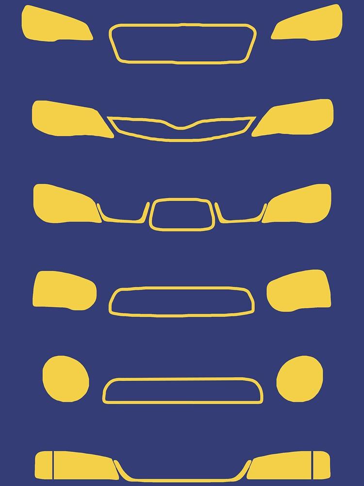 Subaru Impreza Family | Unisex T-Shirt