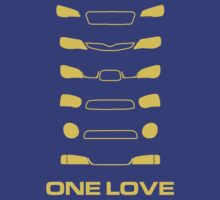 Subaru Impreza - One love | Unisex T-Shirt