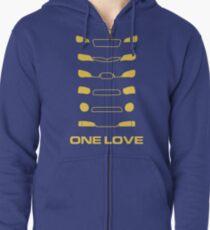Subaru Impreza - One love Zipped Hoodie