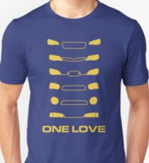 Camiseta ajustada Subaru Impreza - Un amor