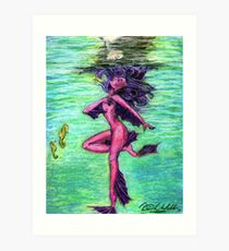 Nixie Dreams Art Print