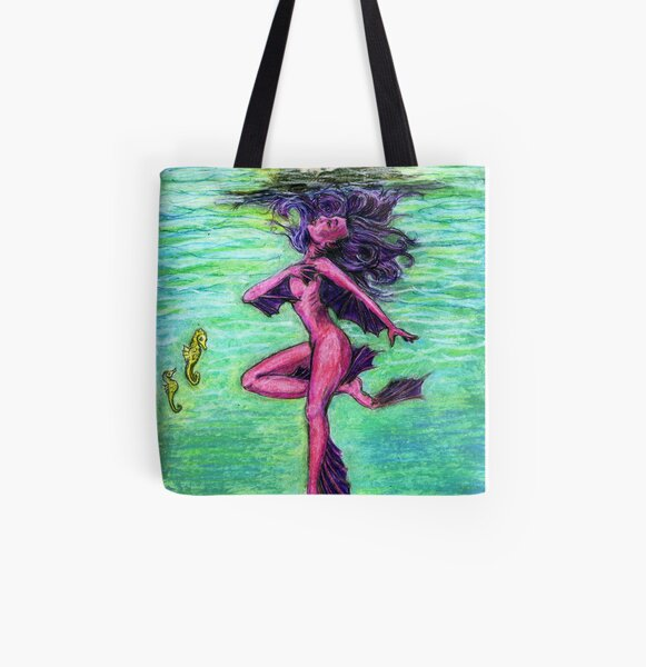 Nixie Dreams All Over Print Tote Bag