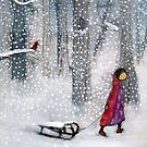 Quiet Snow by Johanna Wright