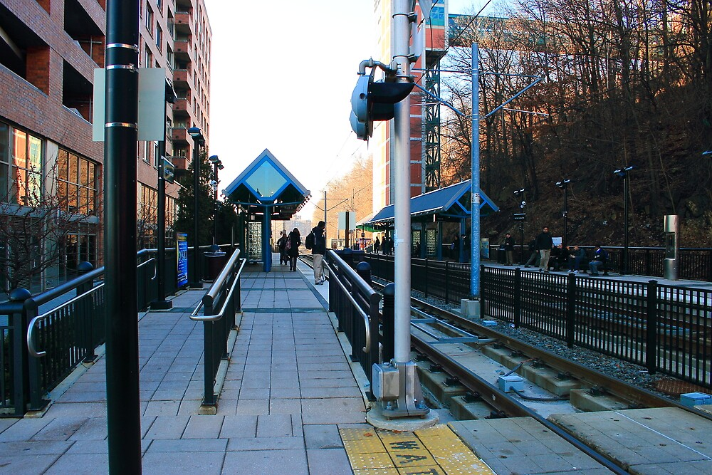 NJ Transit's 9th Street Station Hoboken NJ by pmarella