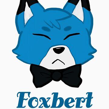 Foxbert, The Blue Fox by krustallos