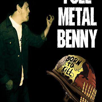 Ben Eddy (AKA Metal Benny) by SillyOlMate
