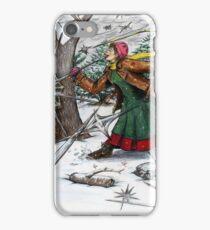 Snowflake Girl iPhone Case/Skin
