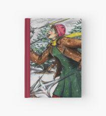 Snowflake Girl Hardcover Journal