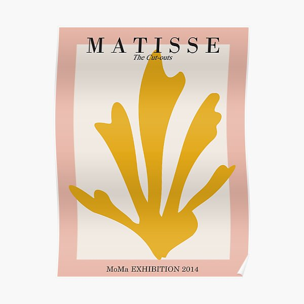 Henri Matisse - The Cut-outs - Matisse Prints Poster