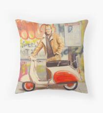 Juxtapoz Throw Pillow