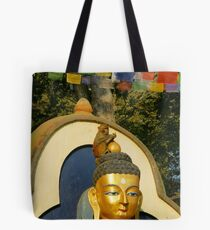 Swayambunath Morning II Tote Bag