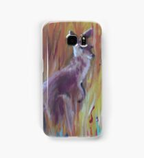 Kangaroos in Long Grass Samsung Galaxy Case/Skin