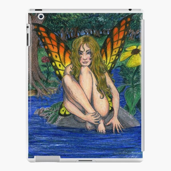 Butterfly Stone iPad Snap Case
