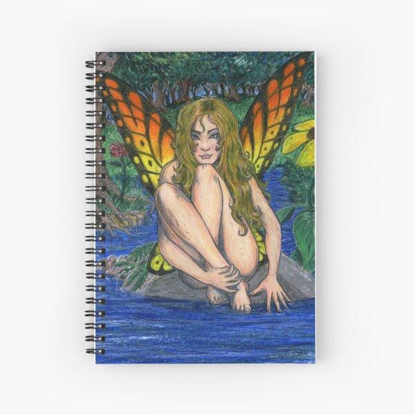Butterfly Stone Spiral Notebook