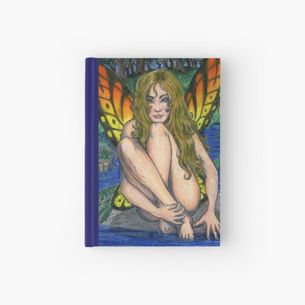 Butterfly Stone Hardcover Journal