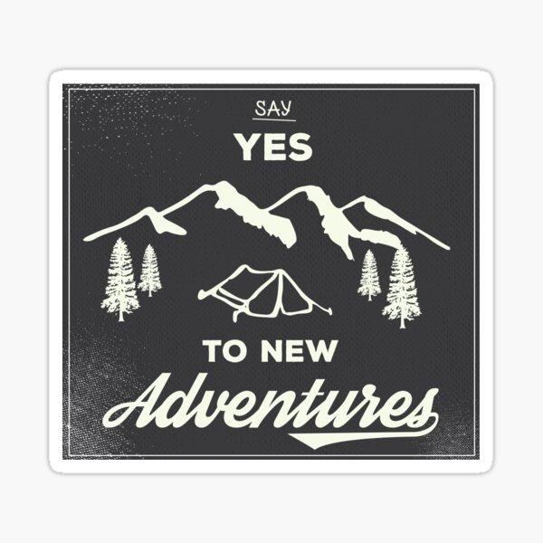 Nouvelles aventures Sticker