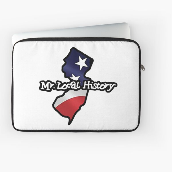 New Jersey - Mr Local History Stype Laptop Sleeve