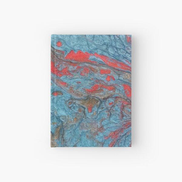 Farbige Würfel 3 B / Acrylbild Notizbuch