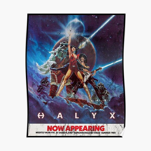 HALYX Poster Vintage Poster