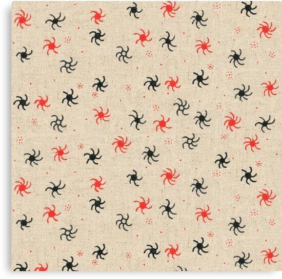 Pinwheel pattern design by mavenbest