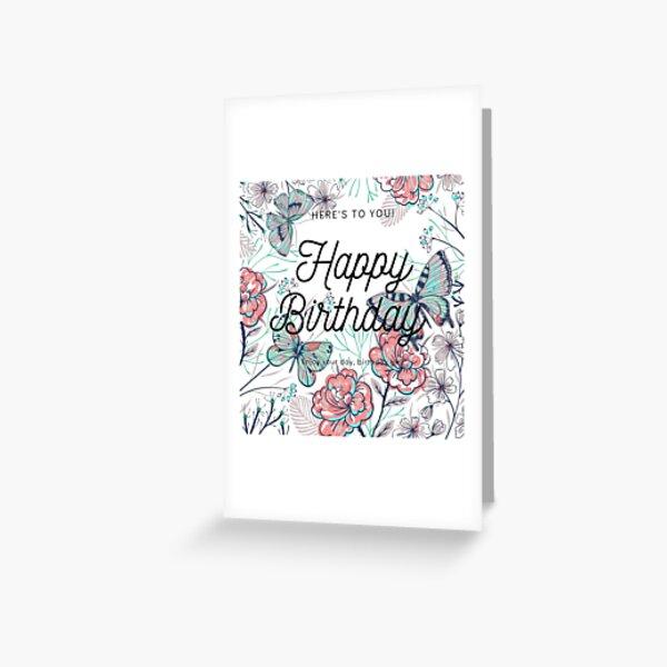 Geburtstagsnachricht Grußkarte