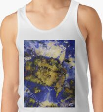Digital Tie-Dye Three Tank Top