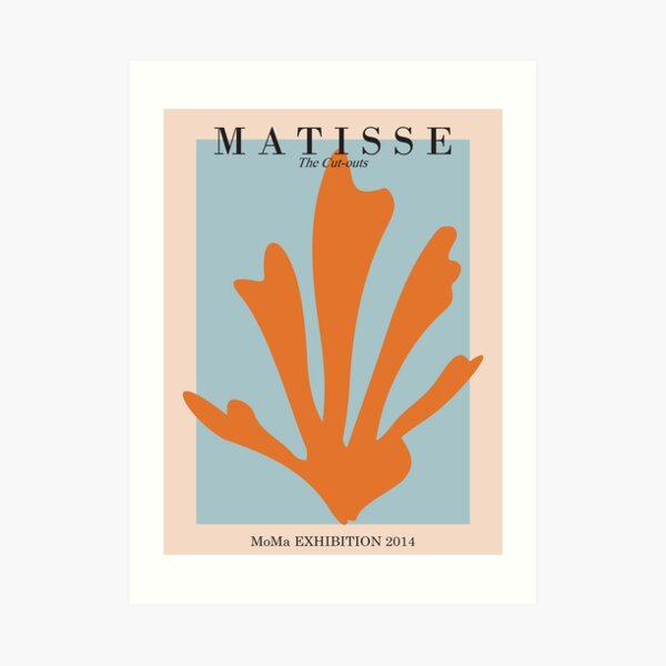 Henri Matisse - Die Ausschnitte - Matisse Prints Kunstdruck