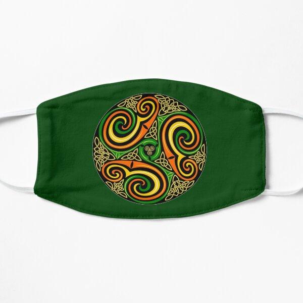 Celtic. Celts. Whirl design. Ornamental Circle. Mask