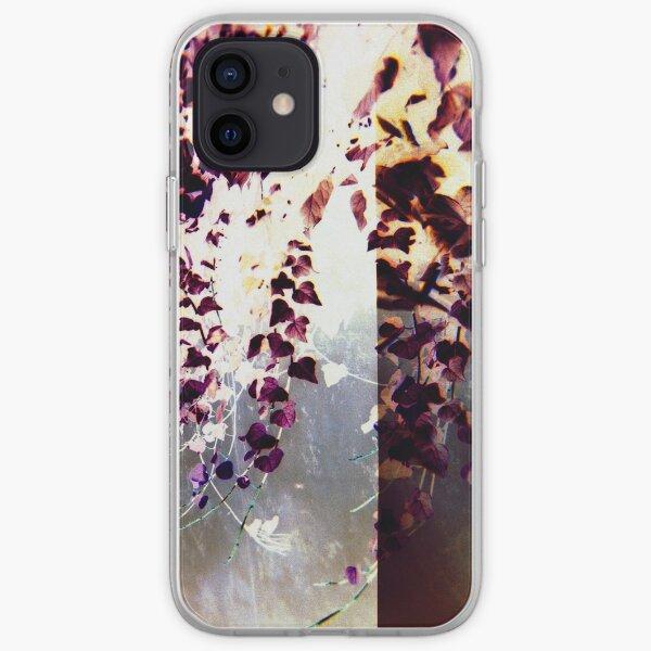 Magenta Flowers iPhone Soft Case