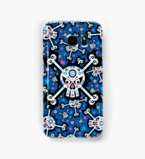 Mexican 'Day of the Dead' Skull Pattern Samsung Galaxy Case/Skin