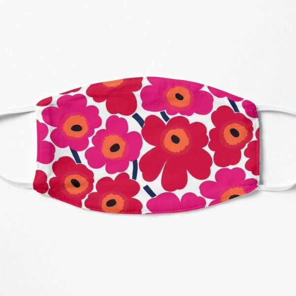 Marimekko summer red design Mask