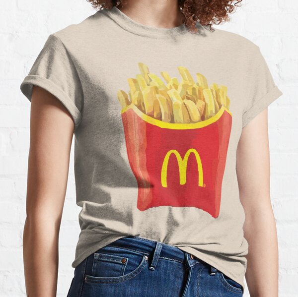 Mc papas fritas Camiseta clásica