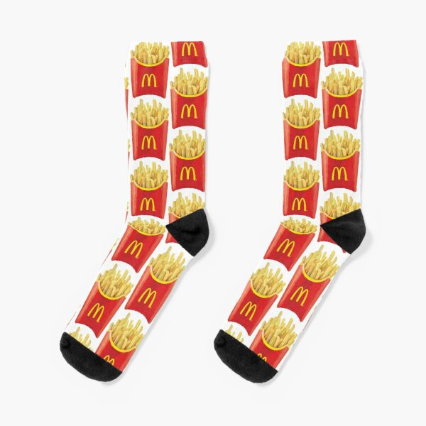 Mc french fries Socks