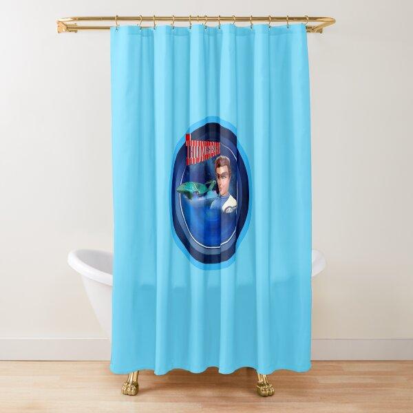 THUNDERBIRDS VIRGIL TRACY 1 Shower Curtain