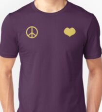 Peace and Love - Josuke Unisex T-Shirt