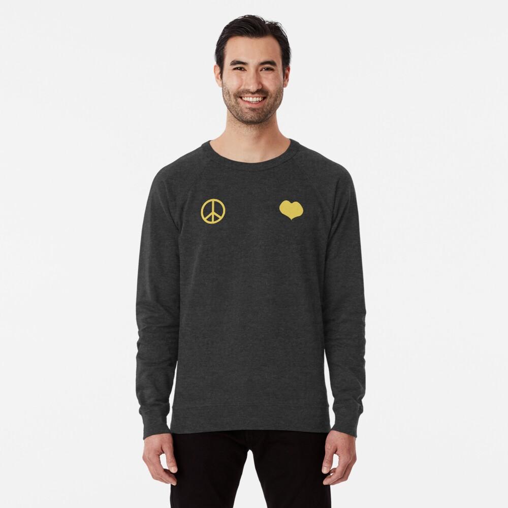 Frieden und Liebe - Josuke Leichter Pullover
