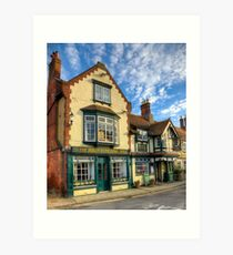 The Bugle Coaching Inn Art Print