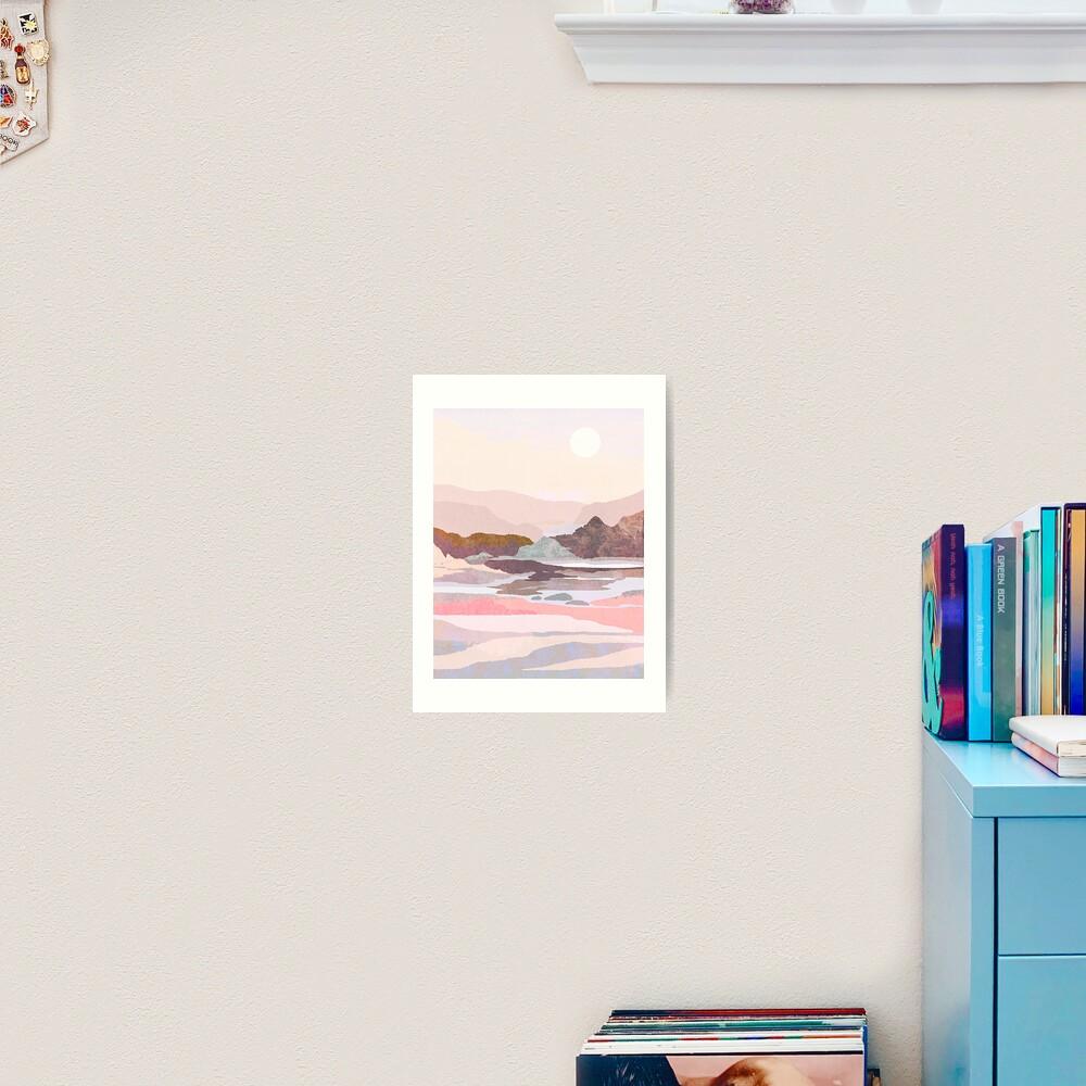 Waking softly Art Print