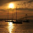 Newport sunset by telley20