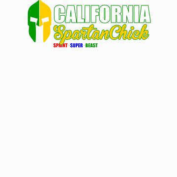 California Spartan Chick green/gold by CertainDeath