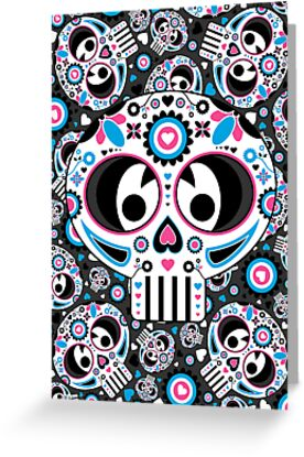 Mexican 'Day of the Dead' Skull  by MurphyCreative