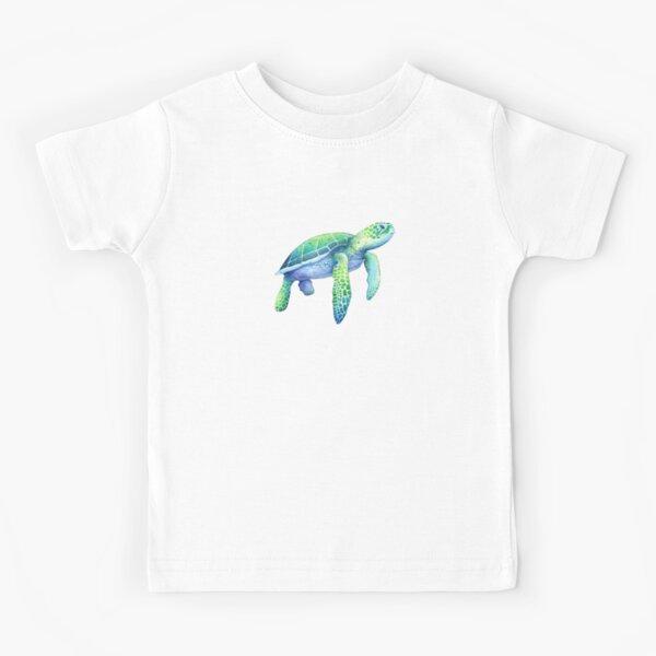 Green Sea Turtle Kids T-Shirt